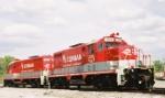R.J. Corman locomotives