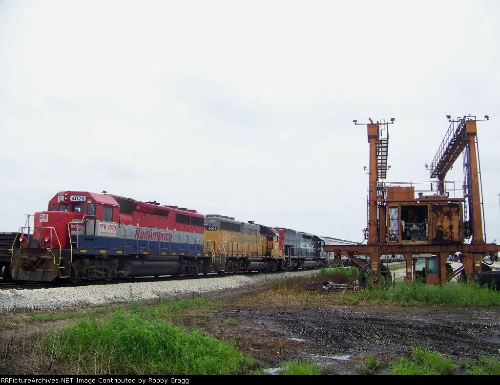 TP&W 4020