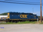 CSX 6391 at the Data Center