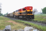 KCS 4128 shoving north bound as helper