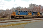 CSX 500, The Spirit of Grafton (AC44AH) leaving southbound