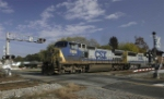 CSX 7808 & CSX 8577 pull southbound into yard