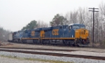 CSX 811 & 813 Nice and new lead coal train into yard