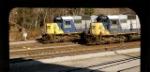 SD50's CSX 8600 & 8534 as seen from under Skyway overpass