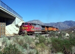 BNSF 948 headed uphill on track 3