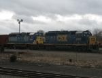 CSX 6241 and CSX 6243