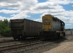 CSX 6204 and WCTX 410