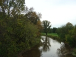 Looking south from middle of Duck Creek bridge