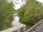 Looking north from Duck Creek bridge