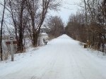 A wintry Wild Goose State Trail
