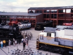 Lineup at Steamtown