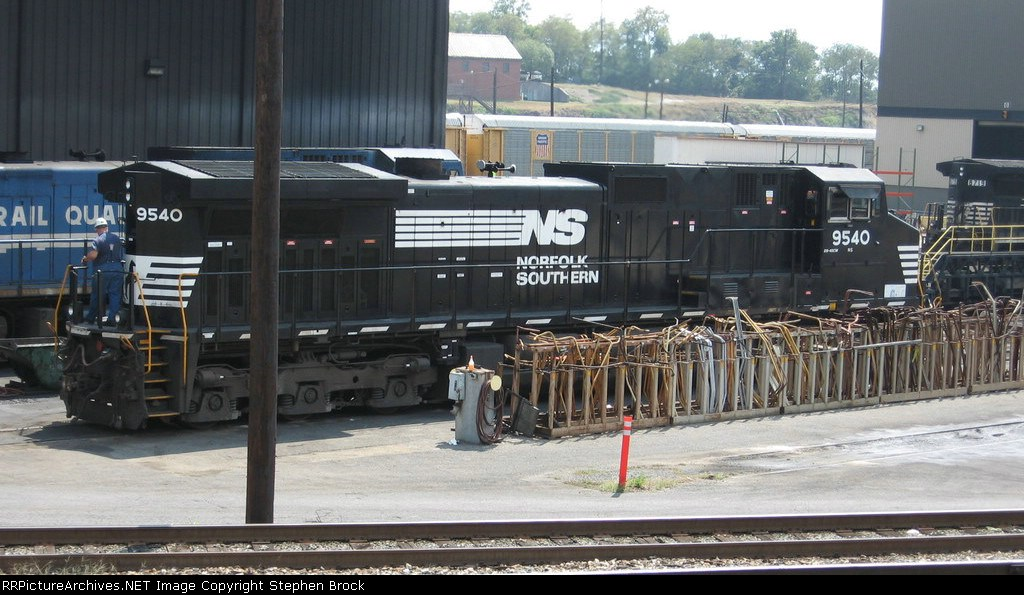 A close view of NS 9540