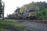 CSX 7693 Leads 5 more GEs through Miles on the M&M Sub