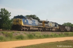 U241 with coal loads for McDuffie Terminal heads south out of Bay Minette AL