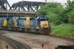 CSX 8064 leading CSX Q438