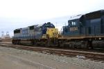 CSXT 8507 & 8834