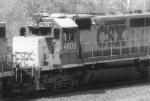 CSXT 4609 Rice Yard Hump Unit