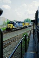 Northbound CSX freight