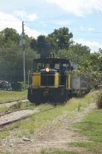 "Inland Lakes Railway Tourist Train the ""Mount Dora Champion"""
