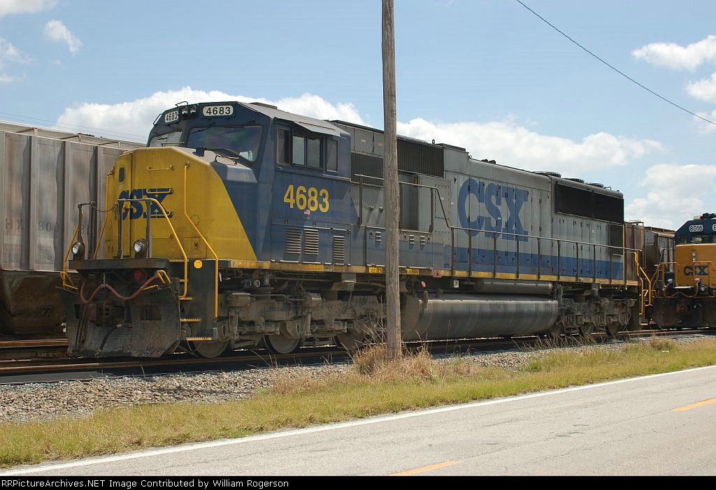 CSX Transportation EMD SD70M No. 4683