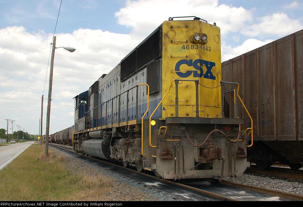 CSX Transportation EMD SD70M No. 4683