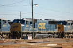 CSX Transportation (CSX) EMD SD70M's