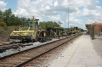 CSX Transportation Track Maintenance Equipment