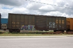 CSX Transportation (CSXT) Box Car No. 124114