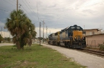 View of CSX Transportation (CSX) EMD GP40-2 No. 6044 and SD50-2 No. 2499 deadheading southbound
