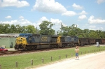Southbound CSX Transportation Unit Coal Train with GE CW60AC No. 622 in the lead