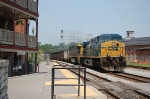 Eastbound CSX Transportation Unit Coal Train with a pair of GE AC44CW's providing power