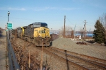 Southbound CSX Transportation Mixed Freight Train, with GE AC44CW No. 265 in the lead