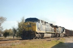 Northbound CSX Transportation Unit Coal Train, with GE AC44CW No. 521 in the lead,