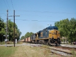 Southbound CSX Transportation Unit Coal Train, with GE ES44DC No. 5327 and C40-8W No. 7867 providing power,