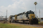 CSX Transportation Mixed Freight Train, with EMD SD40-2's No. 8146 and No. 8091 providing power,