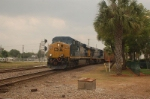 CSX Transportation Tropicana Juice Train, with GE ES44DC No. 5473 in the lead,