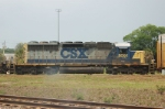 CSX Transportation EMD SD40-2 No. 8091