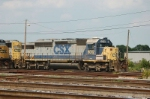 CSX Transportation EMD SD40-2 No. 8012
