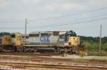 CSX Transportation EMD SD40-2 No. 8012
