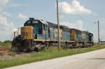 CSX Transportation EMD SD40-2 No. 8005 and SD70M