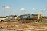 CSX Transportation GE AC44CW No. 87 and EMD SD40-2 No. 8010