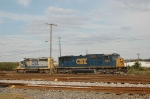 CSX Transportation EMD SD70M No. 4695 and SD40-2 No. 8002