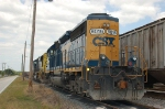 CSX Transportation EMD SD40-2 No. 8016 and SD70M No. 4683