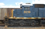 CSX Transportation EMD SD40-2 No. 8016