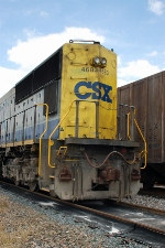 CSX Transportation EMS SD70M No. 4683