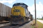 CSX Transportation EMD SD70M No. 4683 and SD40-2 No. 8016