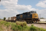 CSX Transportation Local Freight Train with EMD SD70M No. 4696 providing power