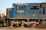 CSX Transportation (CSX) EMD SD70M No. 4680