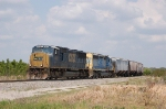 CSX Unit Phosphate Train powered by EMD SD70M No. 4681 and SD40-2 No. 8001