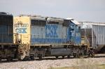 CSX Transportation (CSX) EMD SD40-2 No. 8001